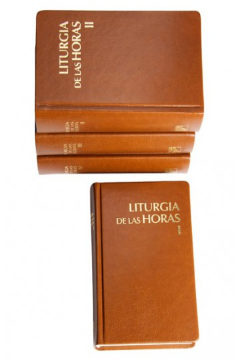 Liturgia de las Horas para América Latina. 4 vols.
