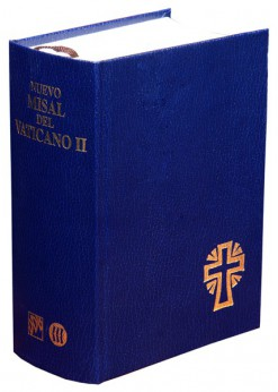 Nuevo misal Vaticano II