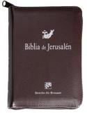 Biblia de Jerusalén modelo bolsillo con cremallera