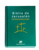 Biblia de Jerusalén Latinoamericana Bolsillo tapa dura