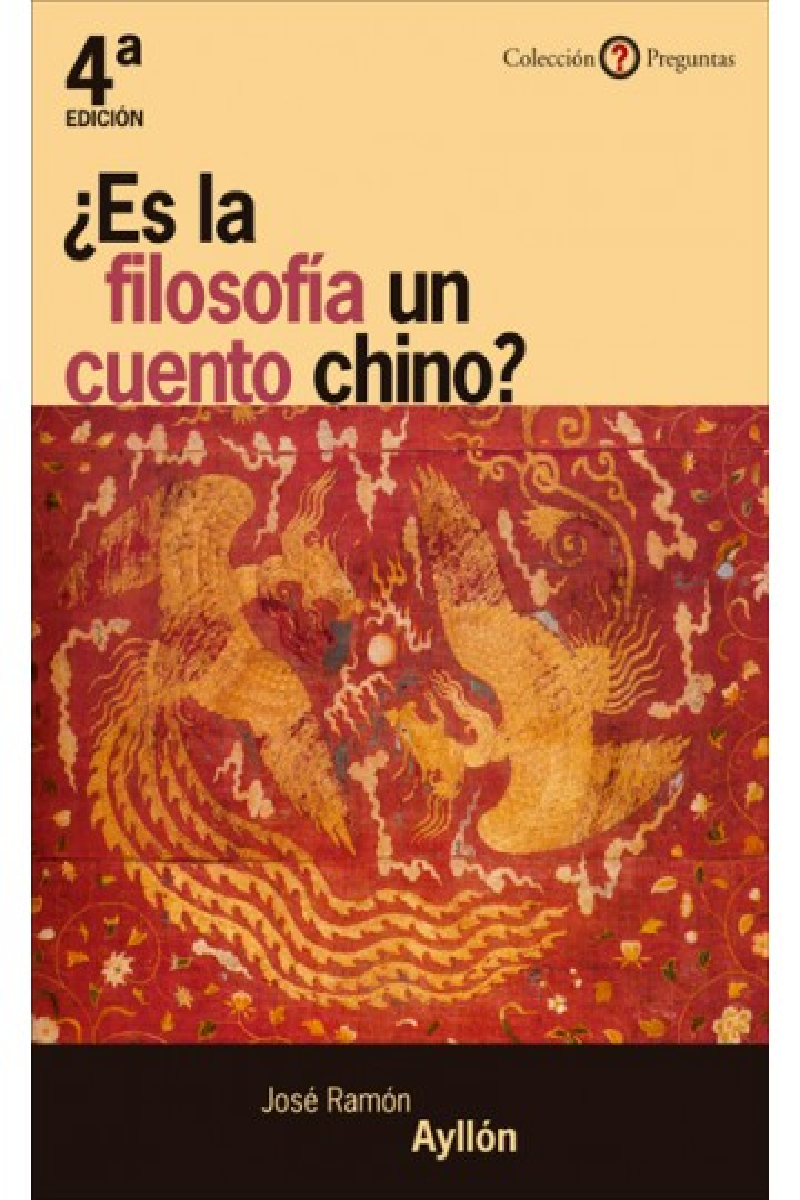 ¿Es la filosofía un cuento chino?