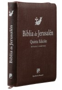 Biblia de Jerusalén manual 5ª edición - cremallera