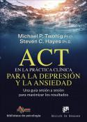 ACT en la práctica clínica para la depresión y la ansiedad