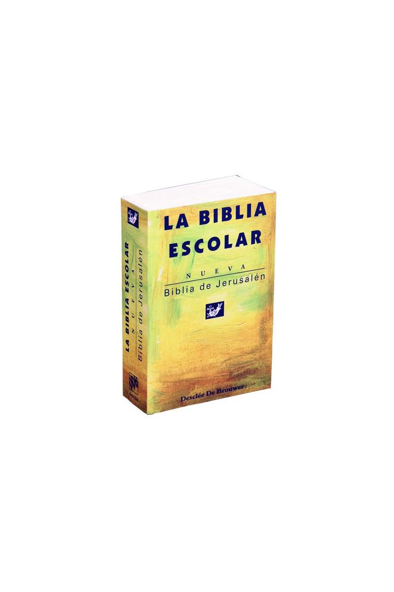 Biblia de Jerusalén edición de bolsillo escolar