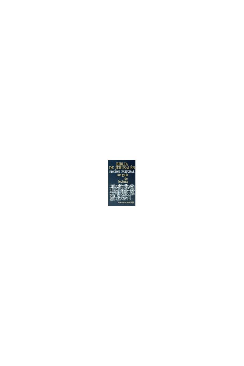 Biblia de Jerusalén edición pastoral