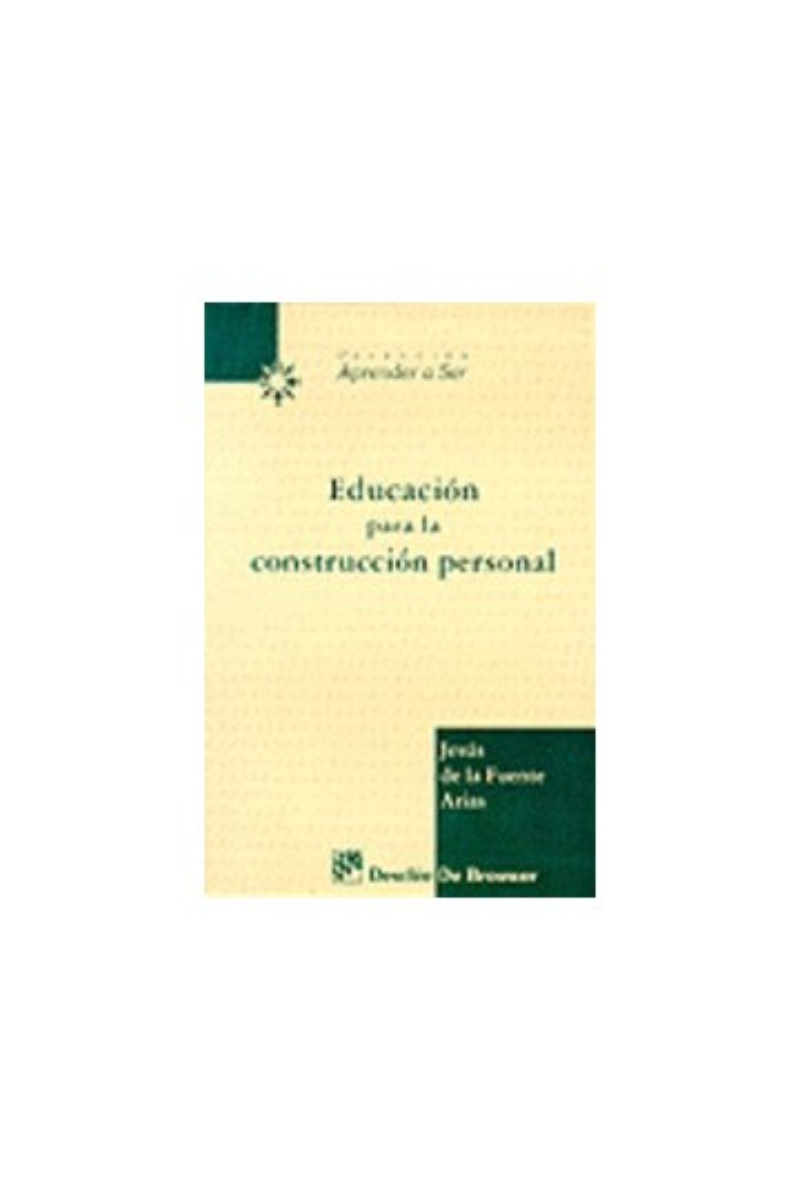 Educación para la construcción personal