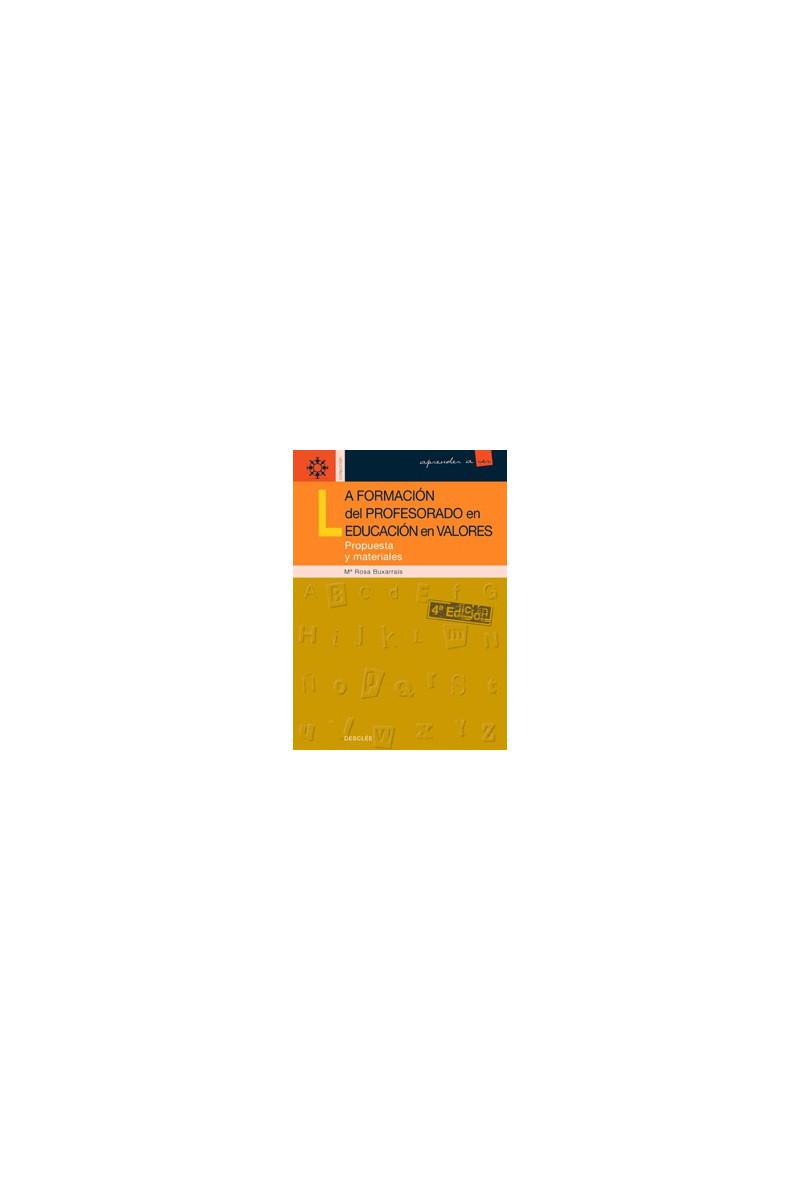 La formación del profesorado en educación en valores