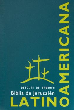 Biblia de Jerusalén bolsillo latinoamericana plástico