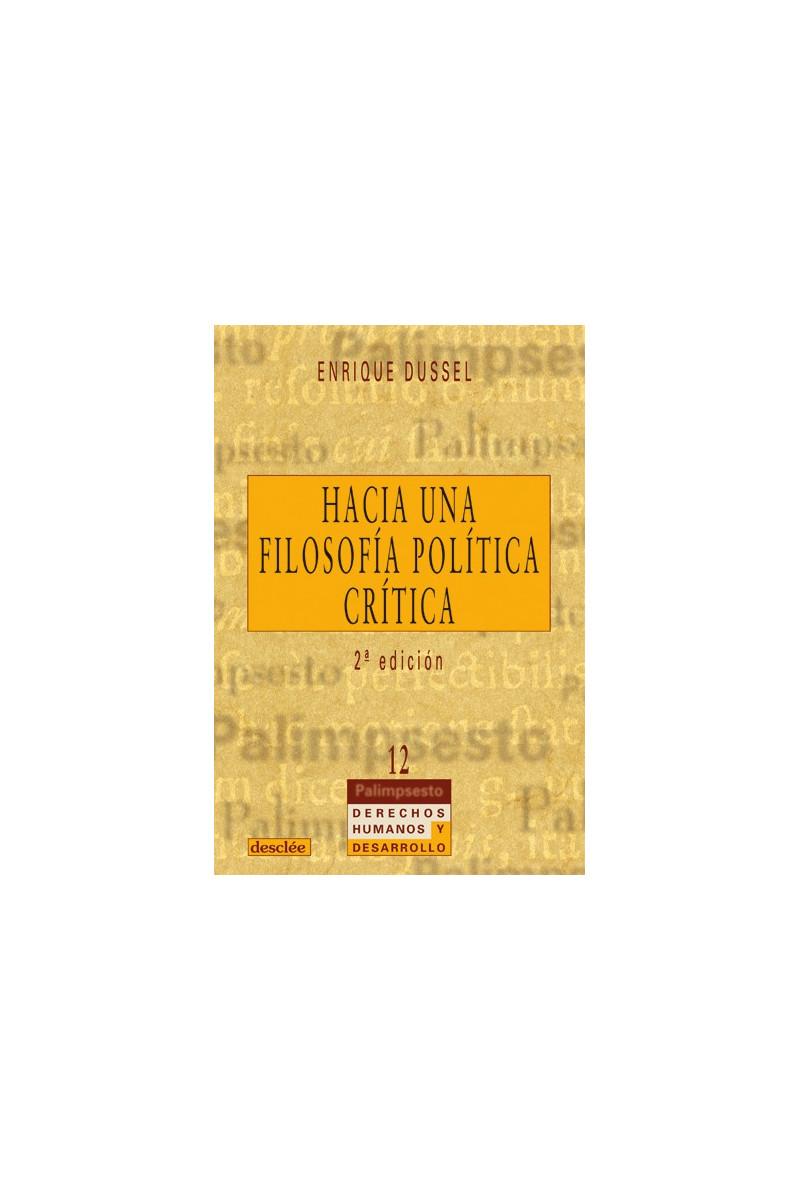 Hacia una filosofía política crítica